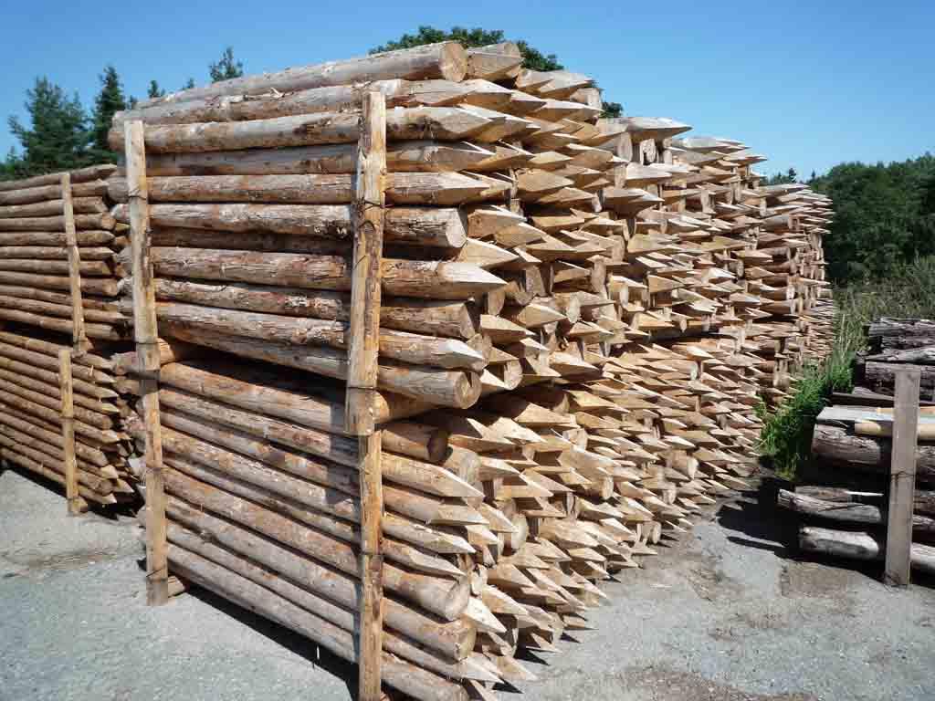 Dřevěné kůly